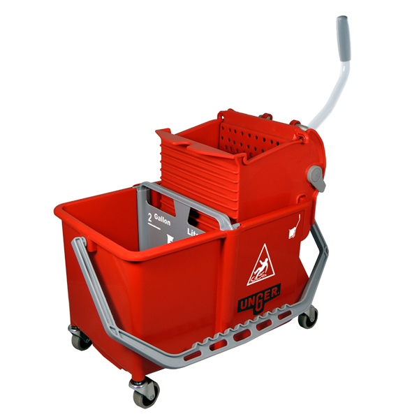 Dual Compartment Mop Buckets