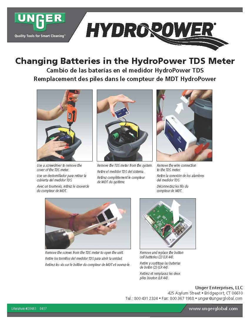 HydroPower Battery Replacement_INSTRUCTIONS
