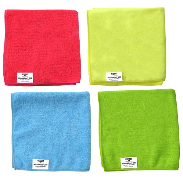 MicroWipe™ Microfiber Cloths 200