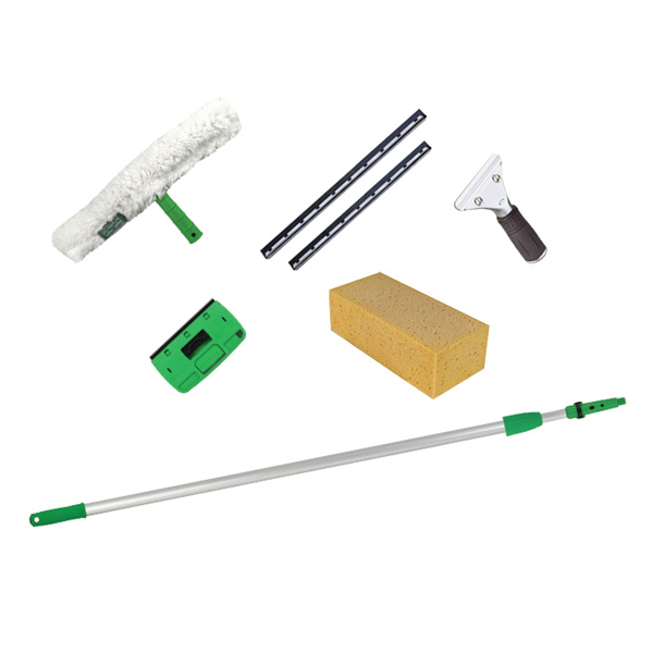 Pro Window Cleaning Kit Outdoor Window Glass Cleaning