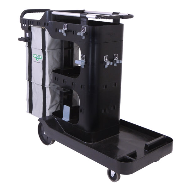 RestroomRx Cleaning Double Supply Cart