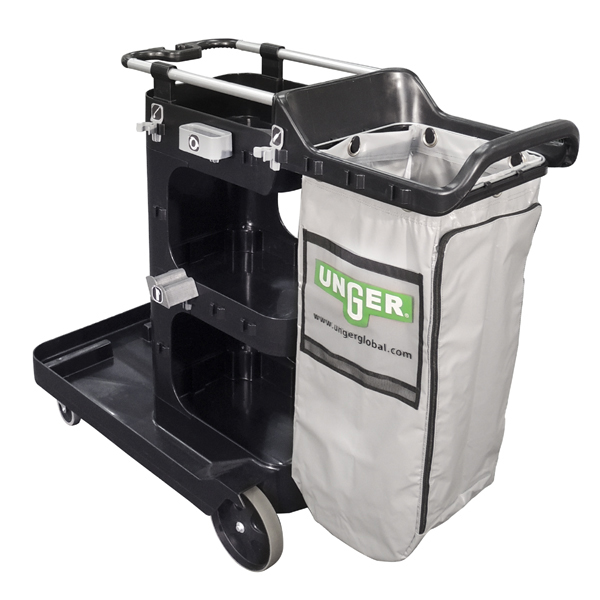 RestroomRx Cleaning Double Supply Cart Back
