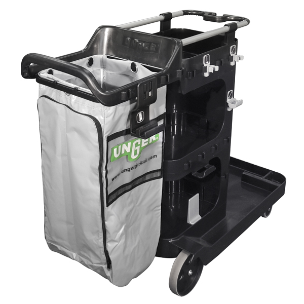RestroomRx Cleaning Double Supply Cart Side
