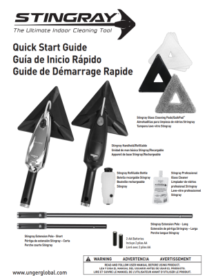 Stingray Quick Start Guide