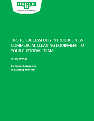 commercial cleaning equipment whitepaper