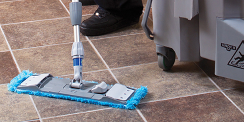 Unger flat mopping system