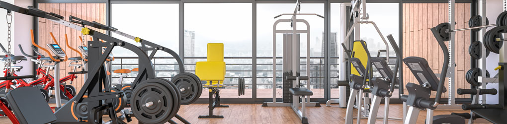 Fitness Center Cleaning Tools