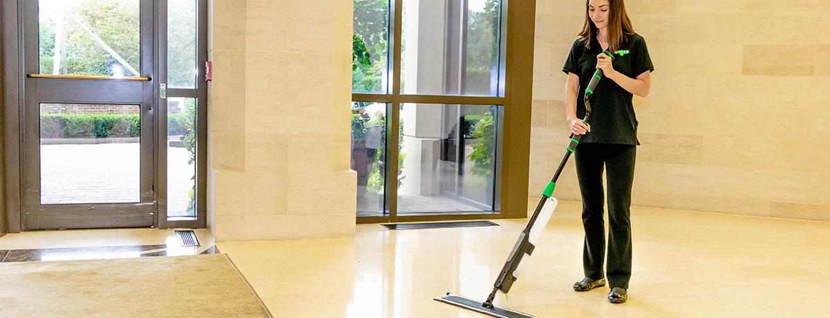 Unger Excella | Clear Floors Twice as Fast!