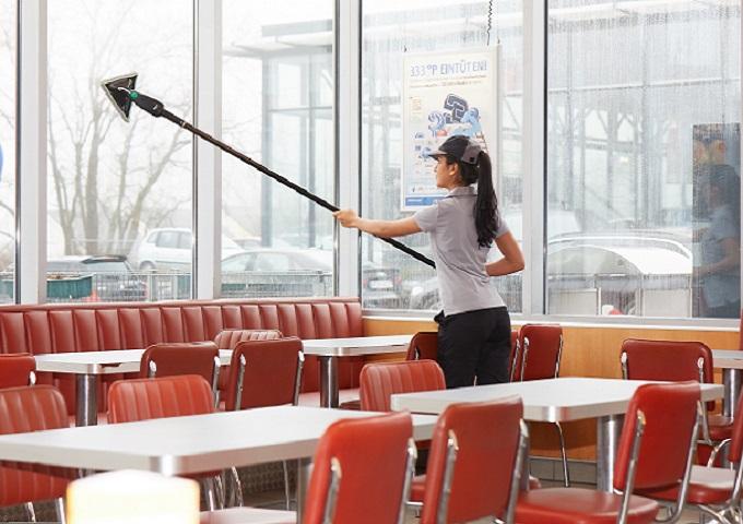 indoor window cleaning solution